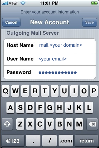 Mail Account Setup 1